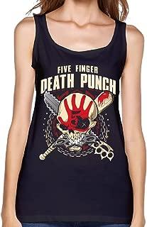 Women Vest Five Finger Death Punch Custom Sexy Vest T Shirt Young Girl Tank Top