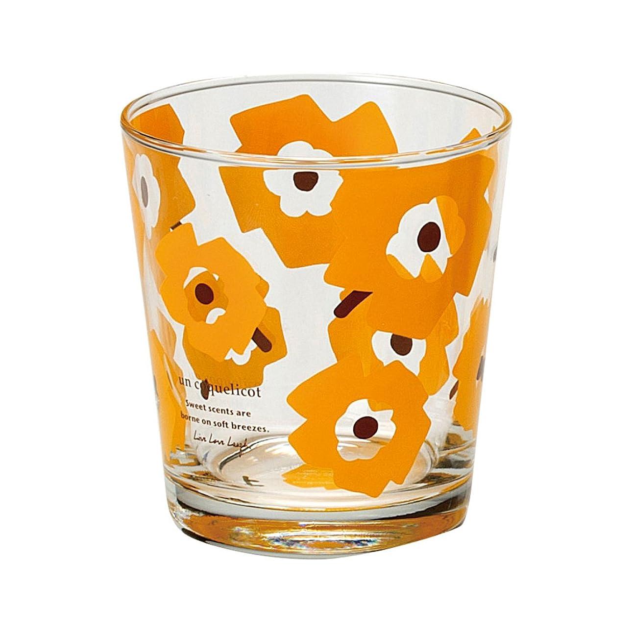 私のテンション入札コップ ガラス グラス 北欧 コクリコ グラス