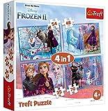 Disney Frozen Trefl 2 4-in-1 Puzzle