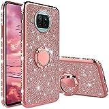 Coque pour Xiaomi Mi 10T Lite 5G, Coque Silicone Paillette Strass Brillante Bling Glitter de Housse...