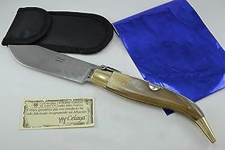 Coltello Celaya Classic Albacete Ottone Pastora di Toro 10,90 cms