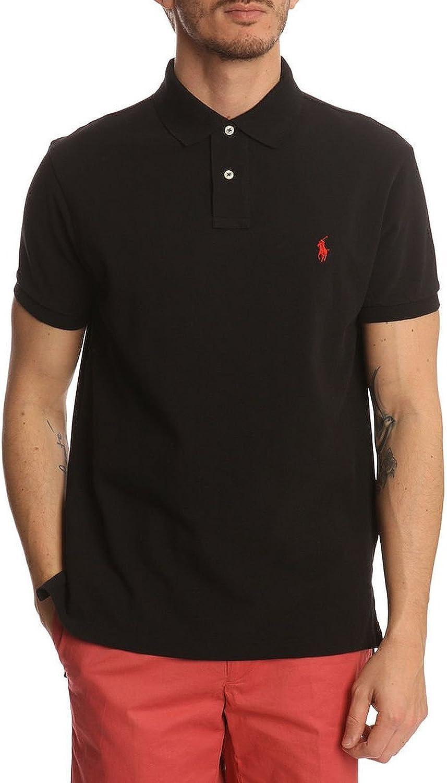 Polo Ralph Very popular store Lauren Men Shirt Custom Fit Mesh