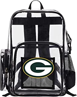 The Northwest Company Green Bay Packers NFL Dimension Clear Backpack