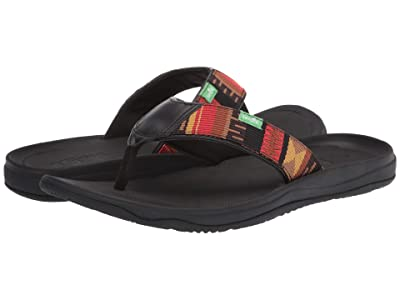 Sanuk Tripper H2O Yeah Lx (Black/Blanket) Men