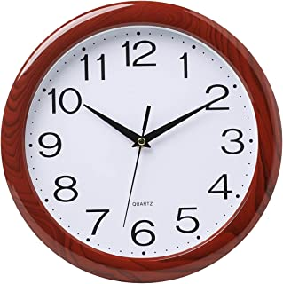 Laigoo 12 inch Classic Wall Clock Analog, Silent Non-Ticking, Decorative Modern Wall Clock Battery Operated for Living Roo...