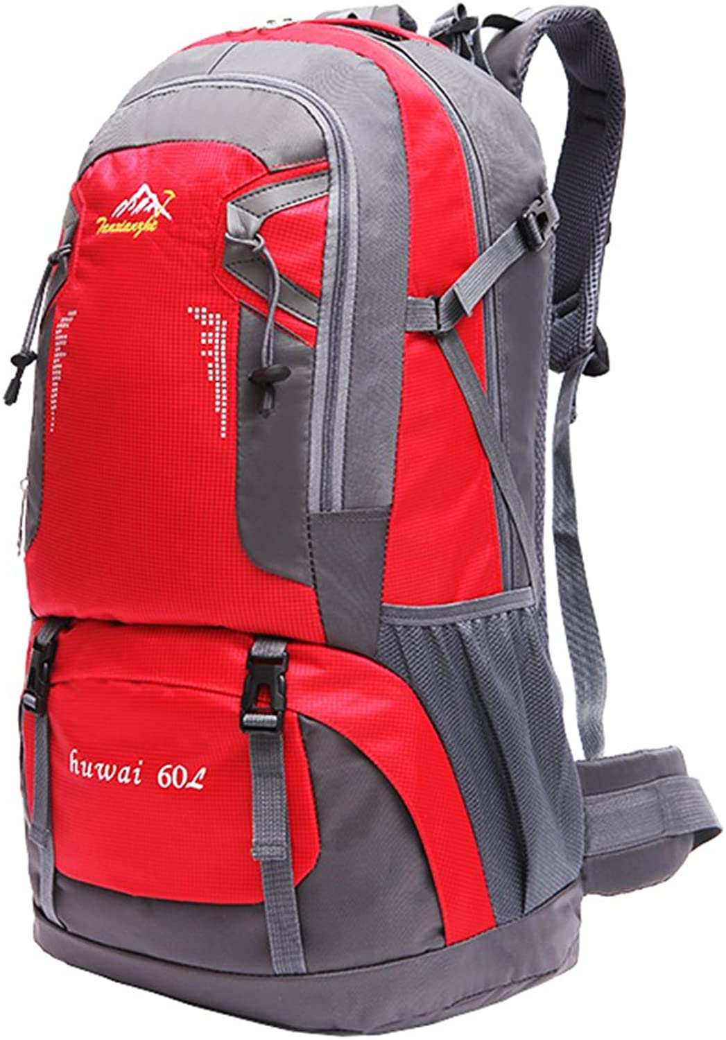 GWELL Big Size Lightweight Waterproof Backpack for Hiking Travel 60L-Pack