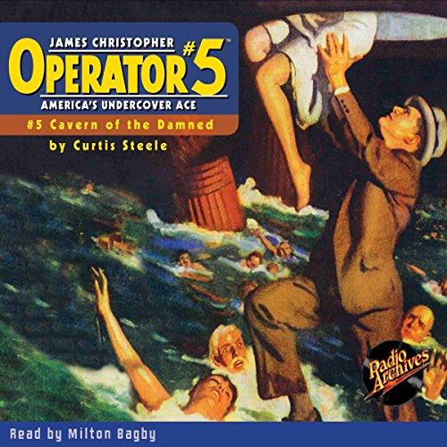 Operator #5: August 1934 cover art