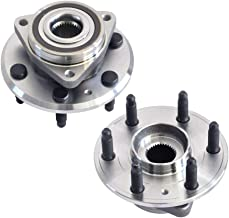 IRONTEK Wheel Hub and Bearing Assembly, Front/Rear Left/Right Side 513277 fit 2007-2012 Buick Enclave 09-16 Chevy Traverse, 07-16 GMC Acadia, 07-10Saturn Outlook ABS 4pcs (2 PCS)
