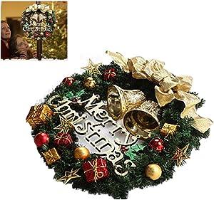 SayHia Guirlande Artificielle Porte Guirlande Guirlande Déco Guirlande Guirlande Guirlande De Noël Guirlande Suspendue Décoration De Noël pour Porte en Plein Air