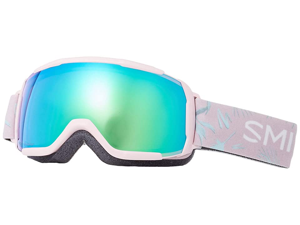 Smith Optics Grom CP Goggle (Youth Fit) (Pink Paradise/Chromapop Everyday Green Mirror) Snow Goggles