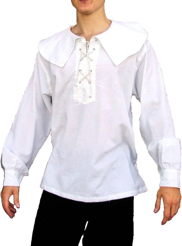 Dark Dreams Gothic Mittelalter LARP Landsknecht Musketier Hemd Gerard, Farbe weiss, Größe XL B00Y0MT8WU ein guter Ruf in der Welt  | Niedriger Preis