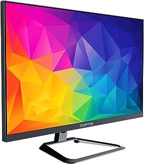 "Sceptre 4K IPS 27"" 3840 x 2160 UHD Monitor up to 70Hz DisplayPort HDMI 99% sRGB Build-in Speakers, Black 2021 (U275W-UPT)"