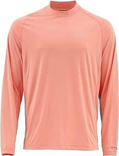 Simms Solarflex Long Sleeve Crewneck Solid Shirts