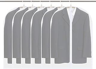 Vicloon Housses de Vêtements, 6PCS Housses de Protection pour Vêtements Transparent,Housses à Vêtements Lavable Anti-Pouss...