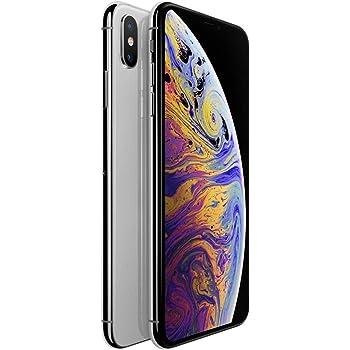 Apple iPhone XS, 256GB, Silver - Fully Unlocked (Renewed)