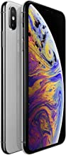 Apple iPhone XS Max, 64GB, Silver - Fully Unlocked (Renewed)