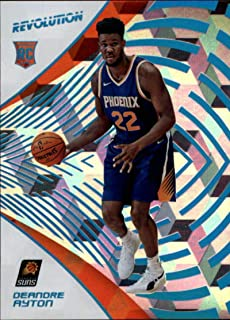 2018-19 Panini Revolution Cubic #108 Deandre Ayton Rookie /50 Phoenix Suns NBA Basketball Trading Card