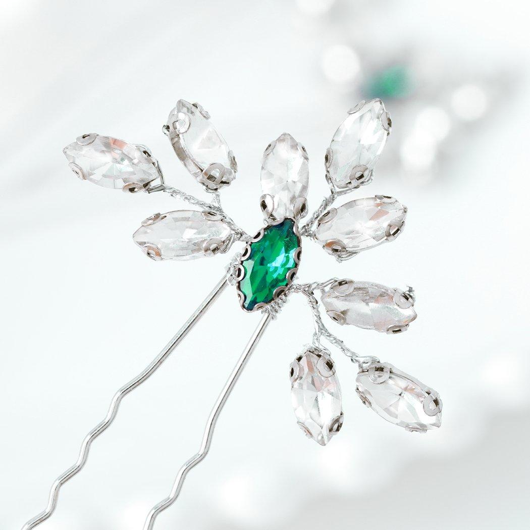 Artio Wedding Hair Los New Shipping Free Shipping Angeles Mall Pins Accessories Rhinestones Piec Bridal