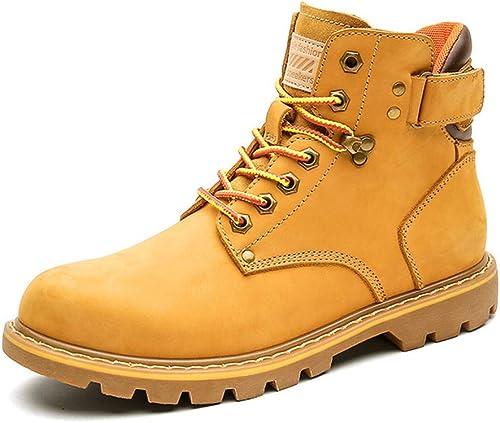 Martin botas Para Hombre botas De Cuero Para El Desierto botas Para Caminar Al Aire Libre botas Militares Zapaños Para Caminar Botines