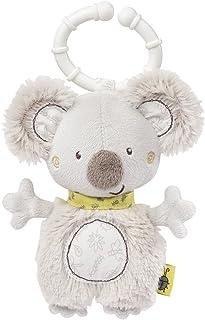 Fehn 064315 Ring-Greifling Mini-Koala – Greifling mit Rassel und Befestigung für Babys und Kleinkinder ab 0 Monaten – Größe: 14 cm