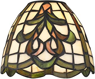 31160b46ab7 Dome Tiffany Glass Shade - 1-5 8-inch fitter