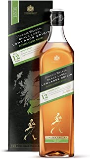 Johnnie Walker BLACK LABEL 12 Years Old LOWLANDS ORIGIN Limited Edition Whisky 1 x 1 l