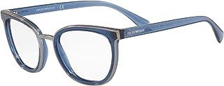 Armani EA3155 Eyeglass Frames 5768-52 - Transparent EA3155-5768-52
