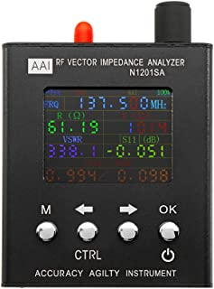 LWYANG N1201SA UV RF Vector Impedancia Ant SWR Antena Analizador Medidor Tester 140MHz - 2.7GHz Herramienta de Equipo de medición