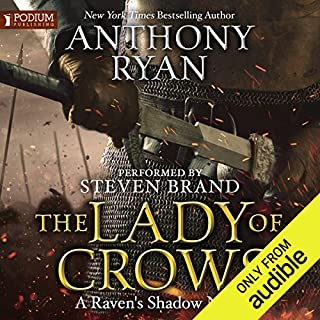The Lady of Crows audiobook cover art