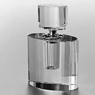 Frasco De Cristal De Chumbo Óptico P/perfume Lou 3,5x3x3cm Prestige Indef Única