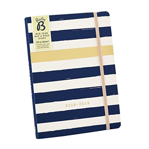 3ee86ab75689 Busy B 2018-2019 Mid Year Day A Page Diary
