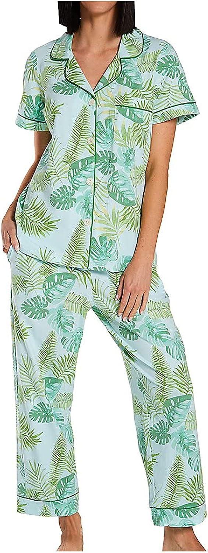 BedHead Dealing Max 45% OFF full price reduction Pajamas Short Sleeve Cropped Cotton Set PJ Spandex