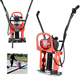 GX35 Concrete Screed Engine 37.7cc 4 Stroke Gas Concrete Wet Power Screed Cement Assembly Concrete Vibrator Vibrating Power Screed Fit 1-6M Blade