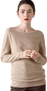 Grneric Autunno/Inverno 2020 100% Maglione di Cashmere Maglione di Cashmere Maglioni di Donne colletti Pullover