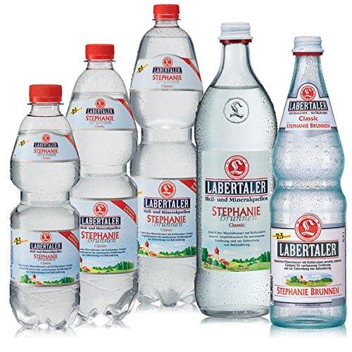 Labertaler Stephanie Brunnen - Mineralwasser 12x0,7l (medium)