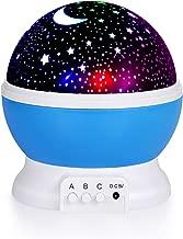 LED Night Lighting Lamp -Elecstars Light up Your Bedroom with This Moon, Star,Sky Romantic - Best Gift for Men Women Teens Kids Children Sleeping Aid