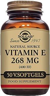 Solgar Vitamina E 268 mg (400 UI) Cápsulas vegetales blandas - Envase