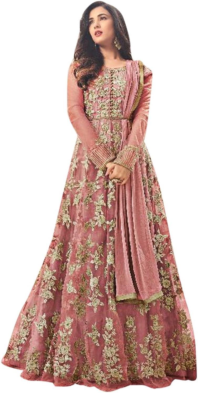 Bollywood Anarkali Dresses for women Salwar Kameez Ceremony Wedding 916 2