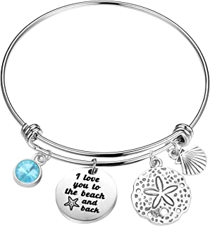 love you to the beach and back bracelet