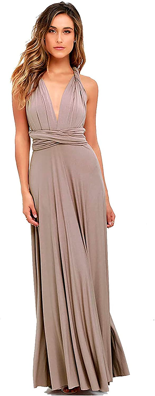 Vivicastle Women's USA Multiway Wrap Convertible Infinity Long Maxi Dress