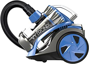 Vytronix CYL01 Cyclonic Vacuum Cleaner   Powerful Bagless Cylinder Vacuum with HEPA Filtration Technology   800W High Powe...