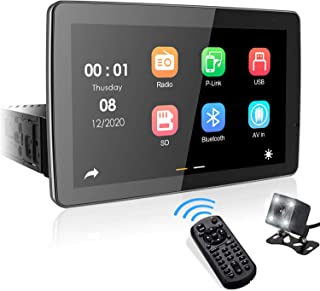 "$164 » 9"" Single Din Touchscreen Car Stereo, aboutBit Adjustable Multimedia Receiver with PhoneLink/Built-in Bluetooth/Dual USB/A..."
