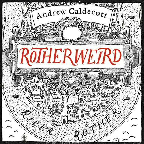 Rotherweird audiobook cover art