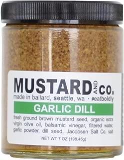 Mustard and Co. - Garlic Dill Gourmet Mustard - 7oz Jar