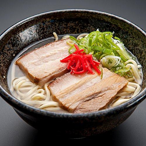 与那覇製麺の生沖縄そば三枚肉セット10食入り