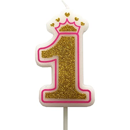 fancy girls  candle number