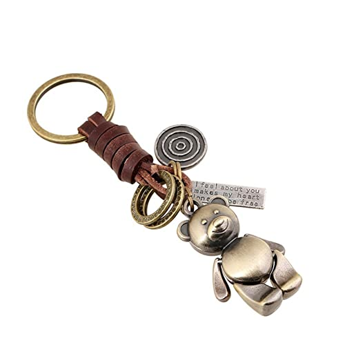 Keychain with Bear: Amazon com