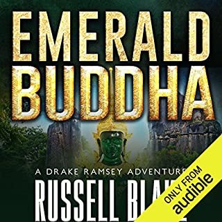 Emerald Buddha audiobook cover art