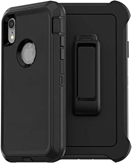 Genuine for OtterBox Defender Series Case Screenless for iPhone XR, Black