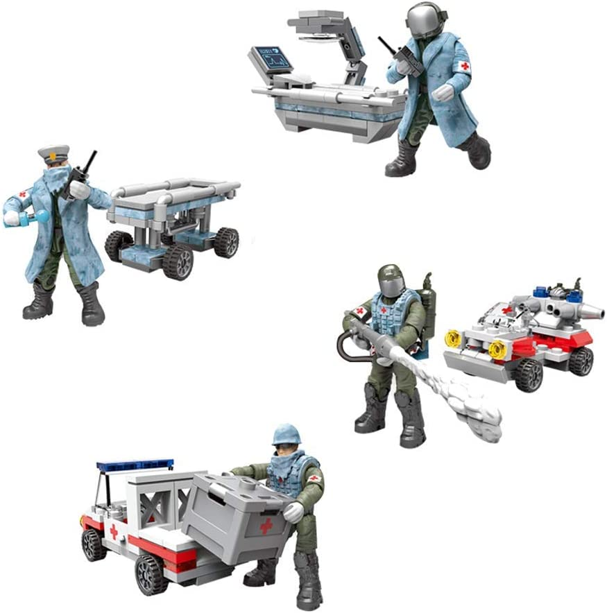 YEIBOBO City Mini trend rank Military Action Acces with Time sale Figure Assistance